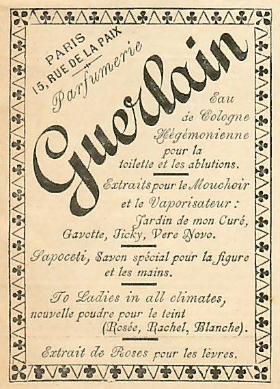 Monde Histoire GuerlainParfum De Tokyo Du Cartes Parfumées rdQsht