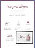 Carte client Guerlain - France